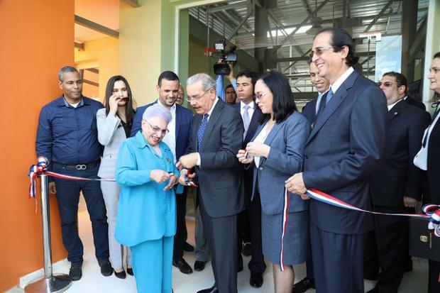 Presidente Danilo Medina entrega nuevas infraestructuras en Ciudad Juan Bosch