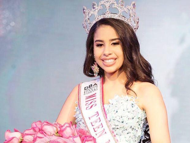 Coronan a la nueva Miss Teen Mundial RD 2018