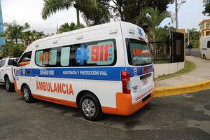 Ambulancia en Samaná.