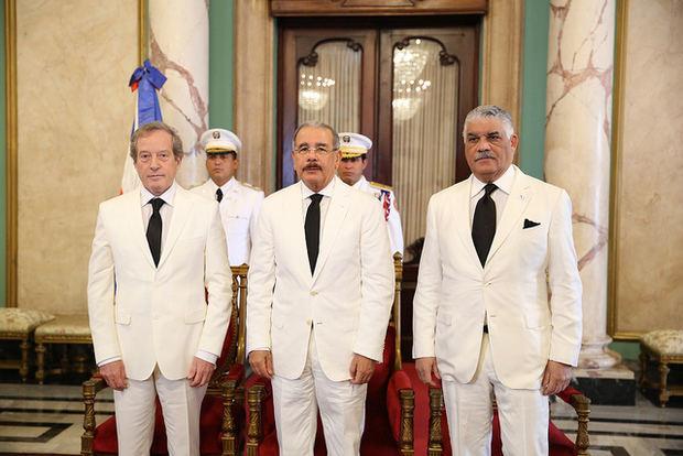 El presidente Medina recibe a nuevos embajadores de seis países