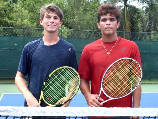 Gandini y Dickson jugarán final de dobles Copa Mangulina