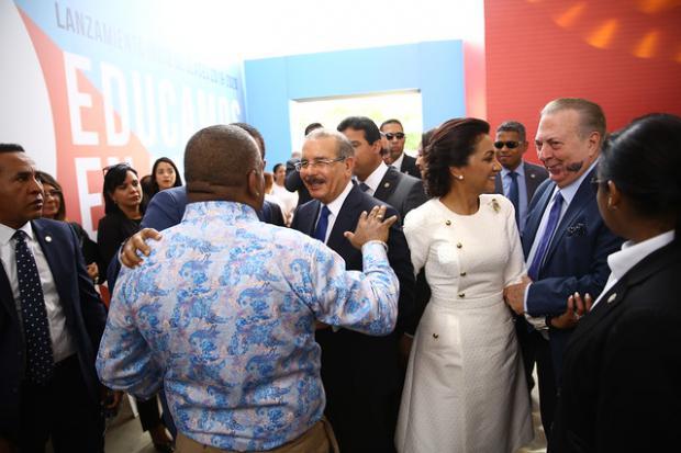 Presidente Danilo Medina encabeza acto del inicio año escolar 2019-2020 en Santiago
