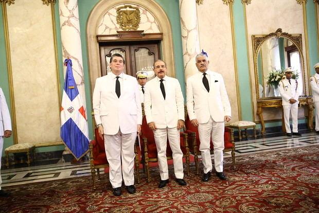 Presidente Danilo Medina recibió cartas credenciales de nuevos embajadores