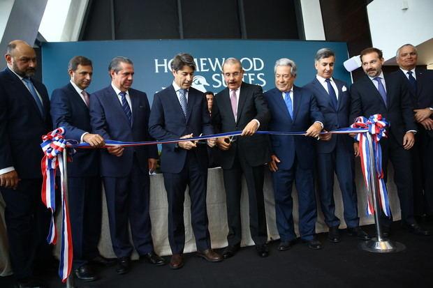 Danilo Medina participa en apertura Homewood Suites by Hilton Santo Domingo