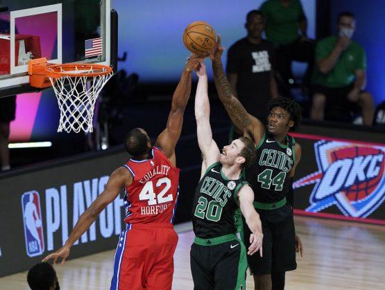 Horford inicia partido en derrota de Sixers frente a los Celtics; Toronto y Clippers ganan