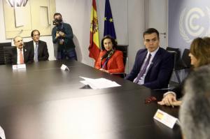 En el marco de la COP 25: Danilo Medina participa en reunión con Pedro Sánchez, junto a otros presidentes