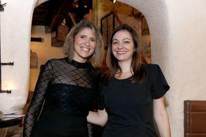 Carmen Moll y María Victoria Rodríguez.