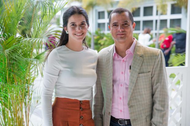 Alejandra Fuertes y Carlos Carrillo.