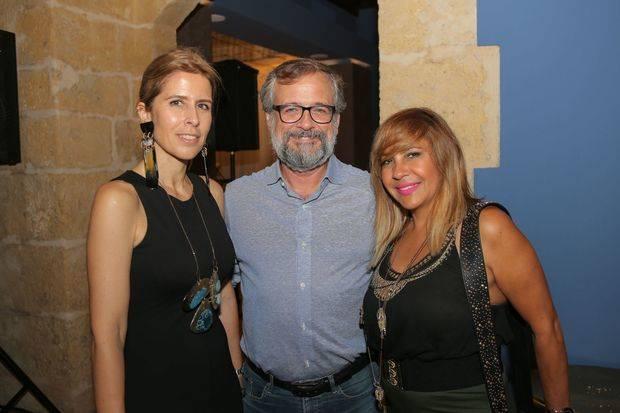 Ruth Saracho, Laureano Urgal y Sandra Abreu.