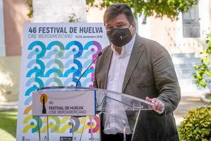 El alcalde de Huelva Gabriel Cruz, en una imagen de archivo.