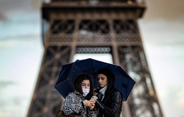 Francia ha impuesto 14.620 multas por incumplimiento del toque de queda