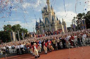 En la imagen, el popular Castillo de la Cenicienta en el Parque Magic Kingdom de Walt Disney World, en Orlando, Florida (EEUU).