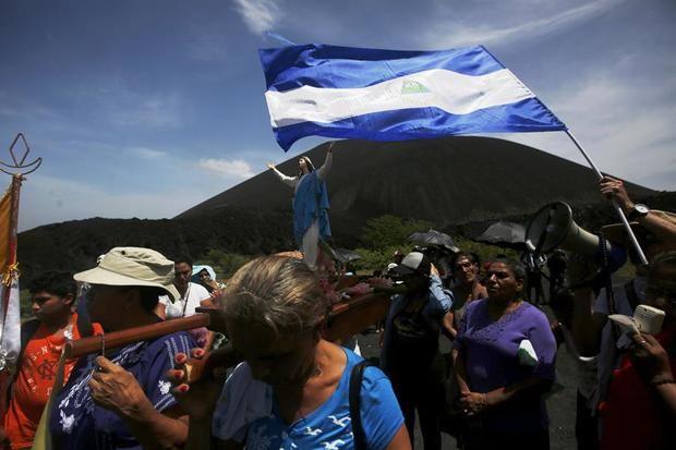 Personas afines al Gobierno han sido identificadas como autoras de agresiones contra religiosos y templos católicos desde que Ortega acusó al Episcopado de apoyar un supuesto 'golpe de Estado', en abril de 2018.