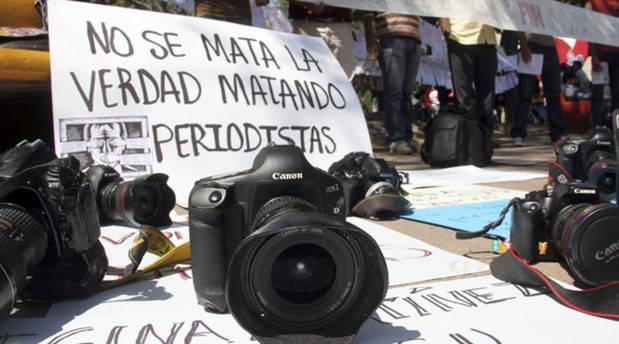 Denuncian que 97 periodistas murieron en 2017 ejerciendo su trabajo