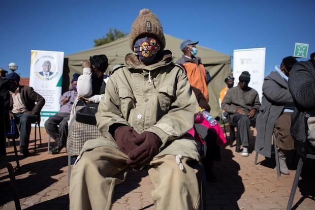 Sudáfrica, la nación más golpeada por la covid-19 del continente africano.