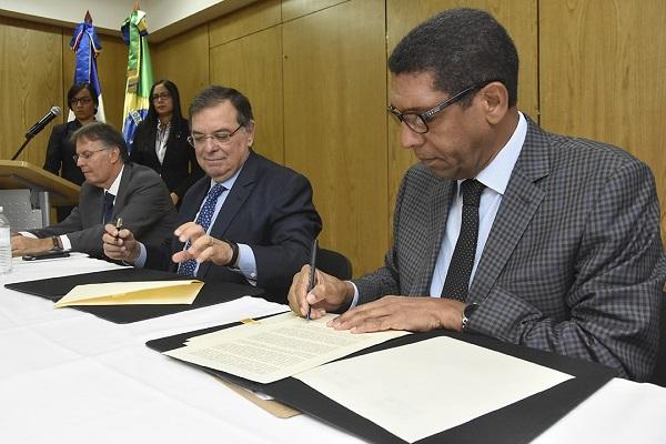 RD y Brasil ratifican varios proyectos de cooperación