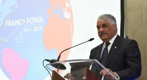 Canciller Miguel Vargas anuncia celebración del mes de la Francofonía RD 2019