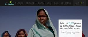 Únete a las 76,427 personas que quieren ayudar a acabar con la esclavitud moderna