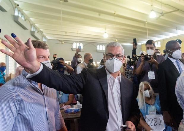 Castillo reconoce la victoria de Abinader en las presidenciales dominicanas