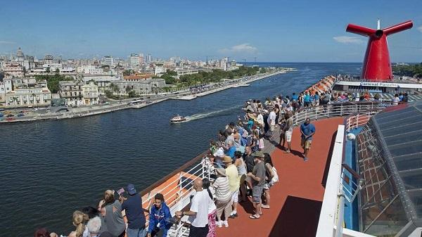 La compañía Carnival viajará a Cuba desde Nueva York, Virginia y Florida