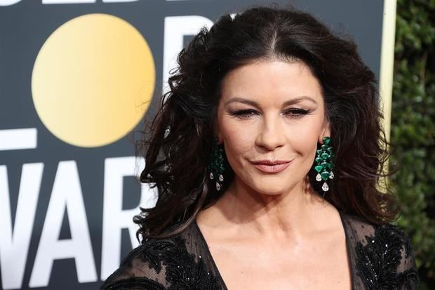 La actriz Catherine Zeta-Jones.