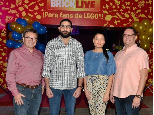 Divertida tarde familiar con bloques de Lego en Bricklive