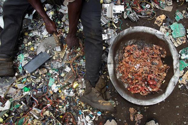 En 2019 se generaron 53,6 millones de toneladas de basura electrónica