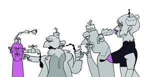 Ilustración del artista cubano Luis Trápaga.