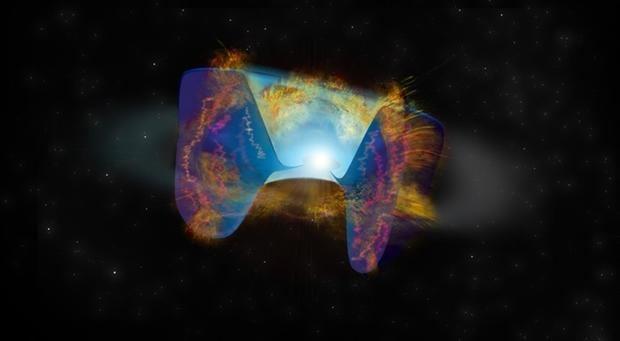 Una colisión estelar crea una explosión de supernova nunca vista hasta ahora
