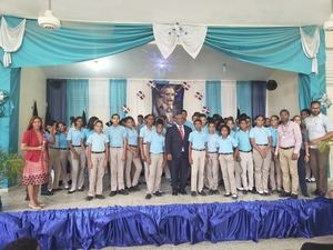 """Liceo Ramón Matías Mella celebra jornada """"Reseña de mi Patria"""""""