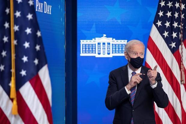 En la imagen, el presidente de Estados Unidos, Joe Biden.