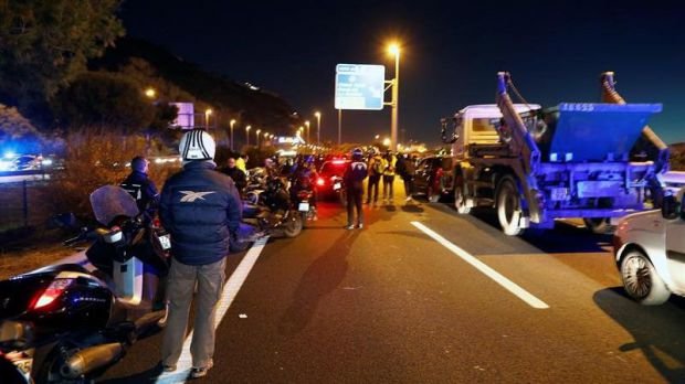 Once detenidos y 32 heridos durante protestas de separatistas en Cataluña