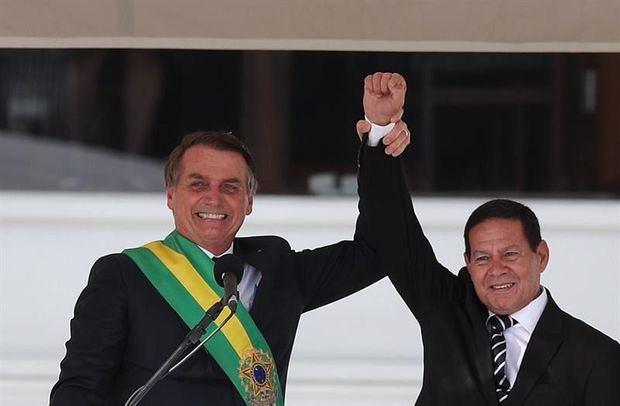 Brasil Investidura de Bolsonaro