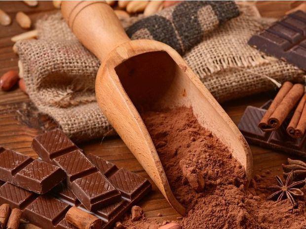 Chocolate negro.