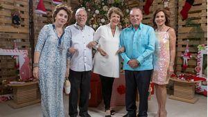 Cóctel de Propietarios Puntacana Resort & Club - María Aurora de Machado, Luis Manuel Machado, Pilar de Rainieri, Frank Rainieri y Haydée Kuret de Rainieri.