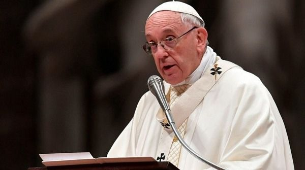 """Papa Francisco: """"Vivir acusando a los demás no es cristiano"""""""