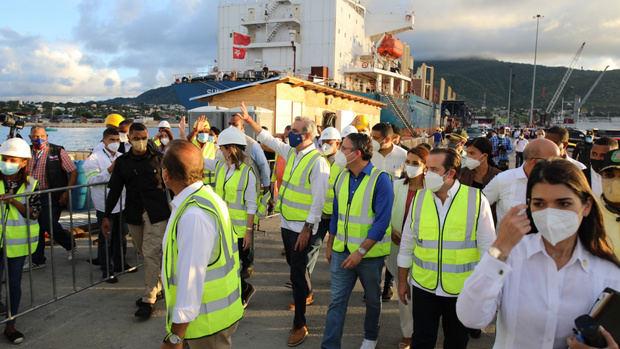 Mandatario anuncia construcción de varias obras en Puerto Plata