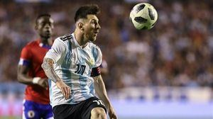 Argentina con Messi debutan en Rusia 2018