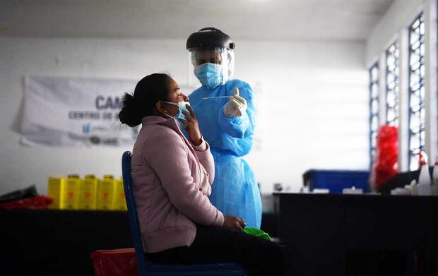 Guatemala llega a 5.736 muertos por la covid-19 y a 160.966 casos positivos