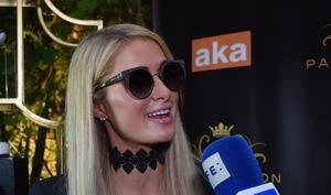 La empresaria y modelo estadounidense Paris Hilton.