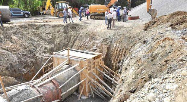 La CAASD restablece el servicio de agua en DN
