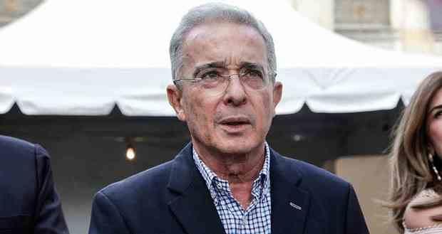 El expresidente de Colombia, Álvaro Uribe.
