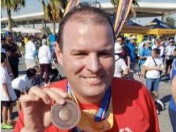 Alejandro Batlle conquista bronce en Olimpíadas Especiales