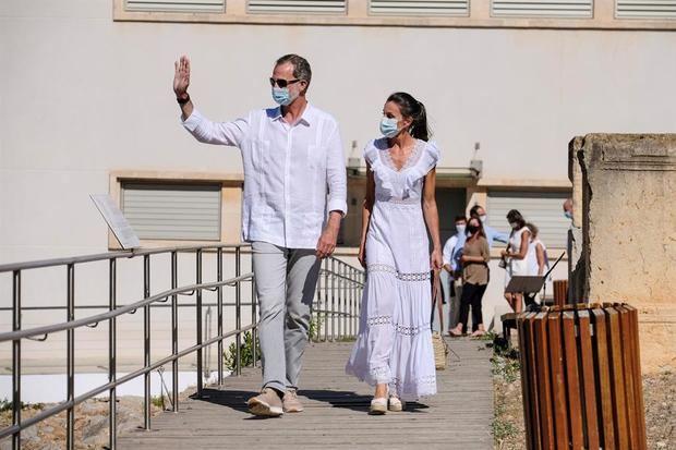 La familia real española pone fin a un verano