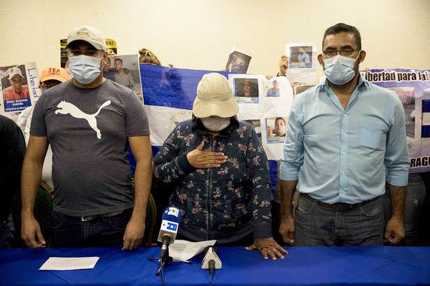 Familias de opositores presos en Nicaragua critican la