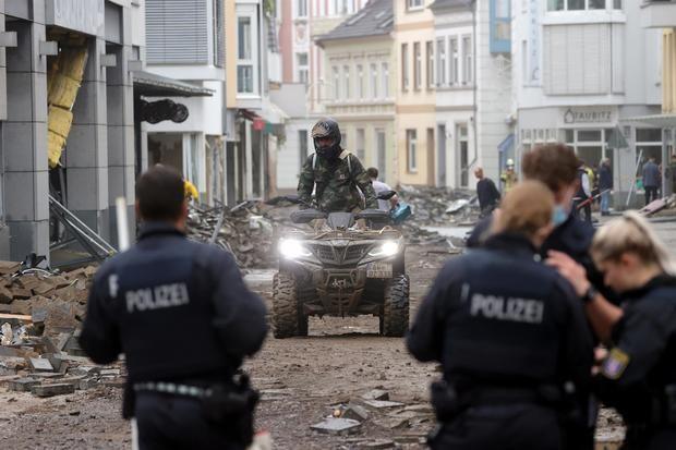 Las fuertes lluvias dejan decenas de muertos en Europa y graves daños