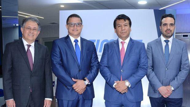 Cesar Guzmán, Luis Franco, Arturo Marroquín y Bernardo Guerrero