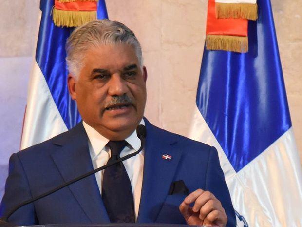 El canciller de la República, Miguel Vargas Maldonado.