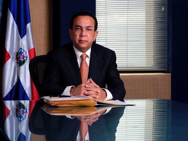 Gobernador del Banco Central de la República Dominicana (BCRD), licenciado Héctor Valdez Albizua.