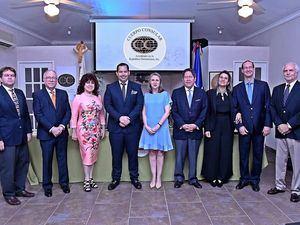 Los integrantes del nuevo consejo de directores del 2019-2021 del Cuerpo Consular Acreditado en la República Dominicana.